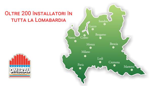 Installatori Ombral di Lombardia